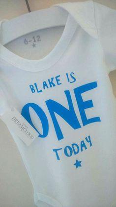 Happy Birthday Blake ☺ have an amazing first birthday