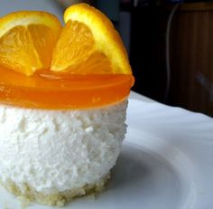 Orange Cream Cheese Mousse.  Uses gelatin and I need to try that in some of my recipes when I can't use the eggs.