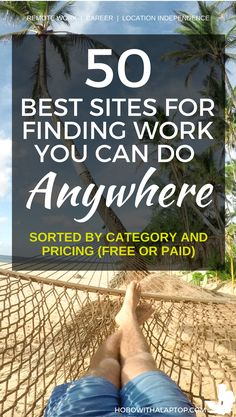Here's 100 Job Sites Where You Can Find Remote Work