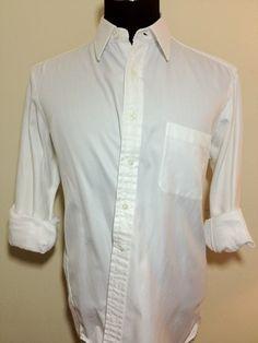 Hamilton 1883 - White Herringbone Twill Dress Shirt
