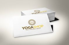 Yoga Workshop Logo by Studio Designs on @creativemarket