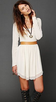 bliss blog - i heart monday: showtime dress from free people