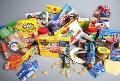 Alimentos processados ruins para a saúde.