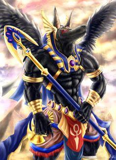 Anubis werewolf by Noirdump on DeviantArt Egyptian Mythology, Ancient Egyptian Art, Egyptian Goddess, Egyptian Tattoo Sleeve, Egypt Tattoo, Anubis Drawing, Egypt Concept Art, Anubis Tattoo, Rockabilly Art