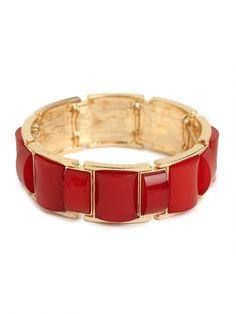 Our Crimson Cabochon Bangle ♥ #bbvday