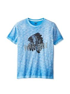 Gilded Age Men's Wild Style T-Shirt (Pale White Blue)