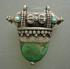 turquoise and silver pendant |Pinned from PinTo for iPad|