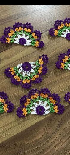 Crochet Art, Thread Crochet, Crochet Motif, Crochet Designs, Crochet Doilies, Crochet Flowers, Crochet Stitches, Crochet Blocks, Crochet Squares