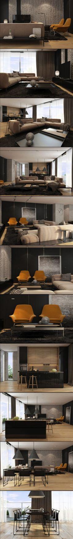 Tel Aviv Apartment by Iryna Dzhemesiuk