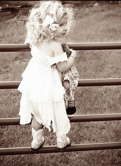 ...little cowgirl and raggedy anne~