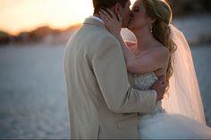 Chris + Chelsey #BeachWedding at the Hilton #PensacolaBeach Gulf Front Hotel |  Photo Credit: Aislinn Kate Photography