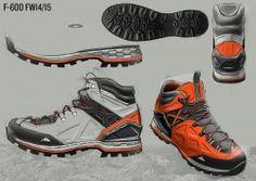 Design by: Christophe Juge – Hiking Footwear FW14/15