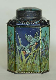 Mazawattee Tea caddy tin