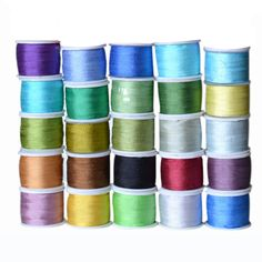 Cold Colors, 7 mm inch Wide Pure Mulberry Silk Ribbon for Embroidery Handcraft Double Faced Thin Taffeta Silk Trim Cheap Ribbon, Mulberry Silk, Silk Ribbon, 100 Pure, Ribbons, Sewing Crafts, Arts And Crafts, China