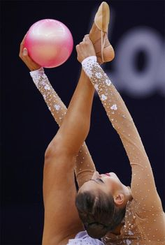Evgenia Kanaeva London 2012. Rhythmics Gymnastics