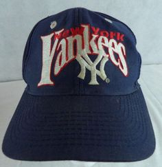 26dc5040254 New York Yankees Baseball Cap Hat Vintage ~ Official MLB  MLB   NewYorkYankees