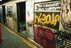 Grafitti Subway NYC