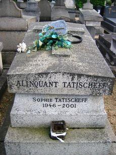 TATI Jacques (Jacques Tatischeff : 1907-1982) - Cimetières de France et d'ailleurs