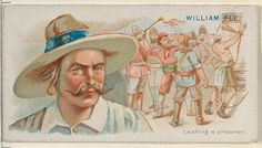 William Fly, Lashing a Prisoner, from the Pirates of the Spanish Main series (N19) for Allen & Ginter Cigarettes
