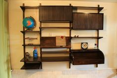 images about Mid Century Modern Wall Shelves on