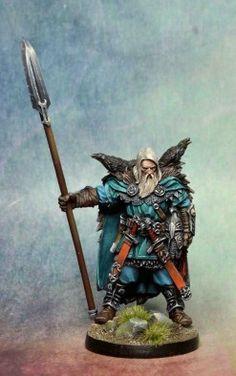Raven Clan Warrior - Blood Rage Game