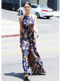 Fashion Beauty Express: 今夏トライすべき魅惑のスリットアイテム  エミリー・ラタコウスキー(Emily Ratajkowsk...
