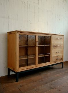 sideboard- really want something with glass doors