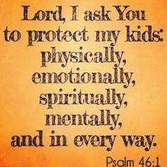 A Mother's prayer!