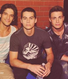 Teen Wolf- Scott, Stiles, and Jackson ;) guapos*