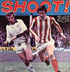 magazine in July 1973 featuring Leicester City v Stoke City on the cover. Stoke City, Leicester, 1970s, Magazines, Football, Goals, Baseball Cards, Classic, Cover