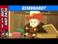 Art with Mati and Dada – Rembrandt | Kids Animated Short Stories in English - YouTube