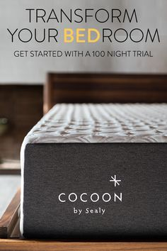 A true bedroom makeover starts with the right bed. When your bed is comfortable, your room instantly becomes a happier place. Take advantage of free shipping and hassle free returns at cocoonbysealy.com and start getting the best sleep of your life.