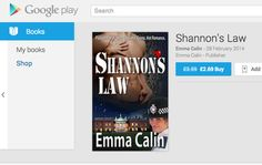 Google Play Books are now offering Shannon's Law all around the world! https://play.google.com/store/books/details/Emma_Calin_Shannon_s_Law?id=emdsAwAAQBAJ