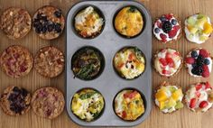 FOOD // Three Healthy Breakfast In A Muffin Tin