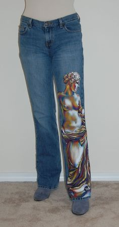 Custom Hand Painted T-Shirts | no. Custom Hand Painted Jeans, Denim, Jackets, Purses, Skirts and T ...