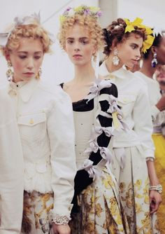 all these bows to close the sleeve -  meadham kirchhoff