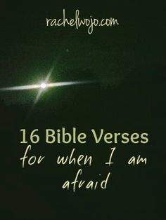While I complied this list for my children, we can all benefit from this list of Bible verses for when I am afraid.