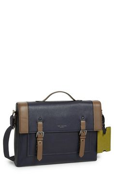 Ted Baker London 'Kantoo' Leather Briefcase available at #Nordstrom
