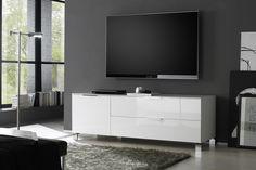 TV-bänk Sola 157 cm Vit