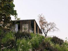 "Riparian House by Architecture Brio ""Habitat - Green Design, Innovation, A . Mumbai, Circular Buildings, Architecture Résidentielle, Riverside House, Innovation, Brio, House Built, Cool Landscapes, House And Home Magazine"
