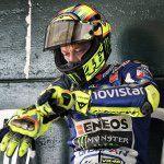 Valentino Rossi training