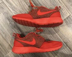 533ab0cacadf Nike Roshe Run Premium Challenge Red Black Safari October Size 11  fashion   clothing  shoes  accessories  mensshoes  athleticshoes (ebay link)