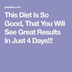 The most common topic of conversation among the women is of course – quick diets. There are plenty of diets and diets that offer different methods and different foods, by which you can quickly melt… Weight Loss Workout Plan, Weight Loss Drinks, See You, Loose Weight, Different Recipes, Health Tips, Recipies, Good Things, How To Plan