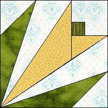 Block of the Day for May 5, 2015 - Spring Flower