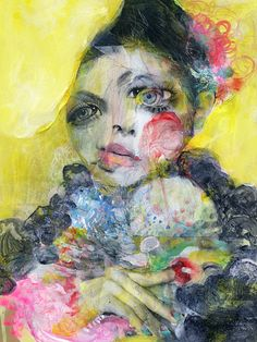 The distorted portraits by Japanese artist Takahiro Kimura I want to share with you today differ quite a bit from the previous post last Wednesday. Actually, I think this must be one of the most colourful posts so far! I love the mangled, sad expressions of the subjects; even with a whole lot of colour …