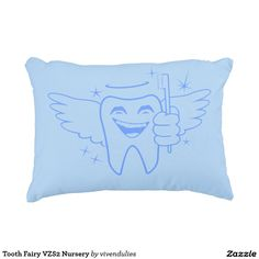 Tooth Fairy VZS2 Nursery Decorative Pillow