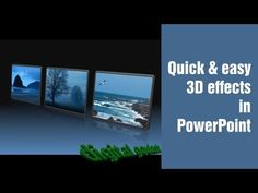 Powerpoint - How to make an advanced interactive quiz 2/2 - YouTube