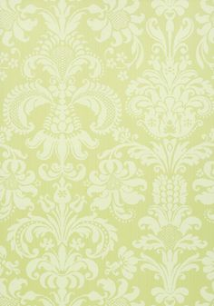 ASHLEY, Citron, T89168, Collection Damask Resource 4 from Thibaut shop.wallpaperconnection.com