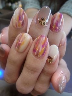 Japanese nail design so cute