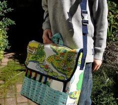 Diy back to school : DIY Travel Messenger Bag